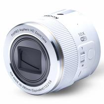 柯达 SL10 镜头式数码相机 白色 (10倍光学变焦 NFC/WIFI功能 手机 / 智能设备无线操控)产品图片主图