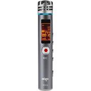 爱国者  R5511 录音笔专业 微型 高清远距降噪  MP3播放器  大容量 2100H 8G 灰色