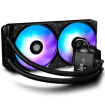 九州风神 船长240RGB CPU水冷风扇散热器 (17种RGB灯效线控调控/支持多平台/240MM双风扇)产品图片主图