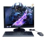 联想 扬天S4150 21.5英寸一体电脑 (i3-7100T 8G 1T 2G独显 Wifi DVD刻 win10-64位)黑色