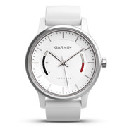 佳明 vivomove 时尚运动健康活动监测指针智能手表 运动版 白色