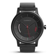 佳明 vivomove 时尚运动健康活动监测指针智能手表 经典版 黑色