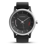 佳明 vivomove 时尚运动健康活动监测指针智能手表 运动版 黑色