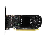 丽台 Quadro P600 2GB GDDR5/128bit/64GBps/CUDA核心384 Pascal GPU架构/支持5K 绘图专业显卡