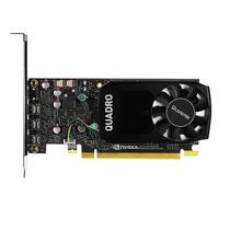 丽台 Quadro P400 2GB GDDR5/64bit/32GBps/CUDA核心256 Pascal GPU架构/支持5K 绘图专业显卡产品图片主图