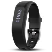 佳明 vivosmart 3 黑色 智能运动光学心率手环心率实时监测自动睡眠监测来电提醒运动蓝牙手表 L号