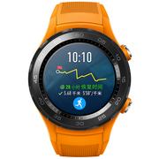 华为 WATCH 2 第二代智能运动手表4G版 独立SIM卡通话 GPS心率FIRSTBEAT运动指导 NFC支付 活力橙