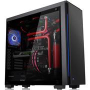 Thermaltake 夜魔黑色中塔机箱(支持ATX主板/5mm钢化玻璃/RGB炫彩模式/双U3)