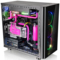Thermaltake View 31 TG RGB 中塔机箱(3个RGB14cm风扇/240mm宽机架/4mm侧透钢化玻璃*2)产品图片3