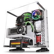 Thermaltake Core P3 白色 开放式机箱(为MOD水冷设计/支持长显卡/可壁挂/双U3/游戏水冷机箱)