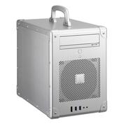 联力 银色Mini-ITX机箱(手提式设计/全铝外壳/标准电源/300mm显卡/双USB 3.0接口) PC-TU200A