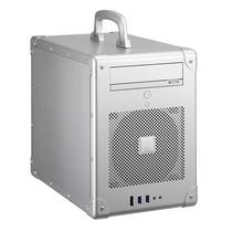联力 银色Mini-ITX机箱(手提式设计/全铝外壳/标准电源/300mm显卡/双USB 3.0接口) PC-TU200A产品图片主图