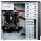 长城 商睿R-08黑色 简约办公机箱 家庭电脑机箱 上置电源(USB3.0/支持SSD/防尘网)产品图片4