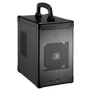 联力 黑色Mini-ITX机箱(手提式设计/全铝外壳/SFX电源/双USB 3.0接口) PC-TU100B