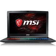 微星 GP72MVR 7RFX-621CN 17.3英寸游戏笔记本电脑(i7-7700HQ 8G 1T+128GSSD GTX1060 6G 多彩背光)黑