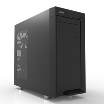 VTG 黑立方 黑色ATX机箱 (支持ATX/侧透/静音棉/电源仓/支持背线)产品图片主图