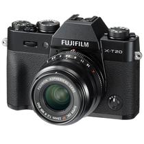 富士 X-T20 XF23 F2 黑色 微单电套机 2430万像素 翻折触摸屏 4K WIFI产品图片主图