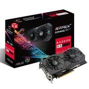 华硕 ROG-STRIX-RX570-O4G-GAMING 1310MHz 4G/7000MHz 256bit GDDR5 PCI-E3.0显卡