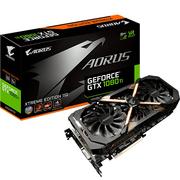 技嘉 AORUS GTX 1080 Ti Xtreme Edition  1607-1721MHz/11232MHz 11G/352bit GDDR5X显卡