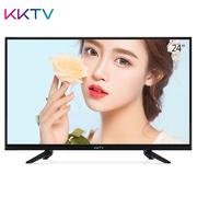 KKTV K24C 24英寸窄边高清节能护眼液晶平板电视机 黑色