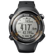 爱普生 RUNSENSE SF-850 GPS运动腕表 别致黑