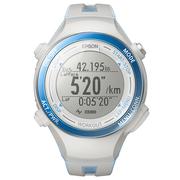 爱普生 RUNSENSE SF-720 GPS运动腕表 冰面蓝