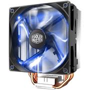 酷冷 T400i (蓝光)CPU散热器(支持I9 2066/4热管/PWM温控/LED风扇/背锁扣具/直触热管)