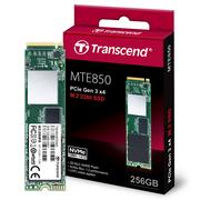 创见 MTE850系列 256G 3D MLC PCIe Gen3 x4 M.2 2280固态硬盘