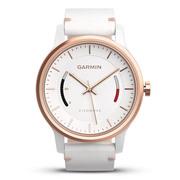 佳明 vivomove 时尚运动健康活动监测指针智能手表 经典版 白色