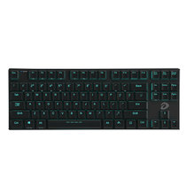 达尔优 EK820 超薄87键游戏背光办公机械键盘  有线蓝牙双模式切换 巧克力青轴产品图片主图