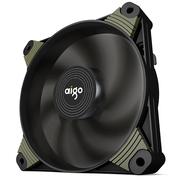爱国者  冰魄X1高效版 黑色 电脑机箱风扇(小3P+大4P双接口/7叶风扇/减震脚垫/赠4螺丝)