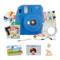 富士 INSTAX 一次成像相机 MINI9相机 海水蓝 实用套装(20张胶片)产品图片1