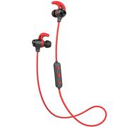 漫步者 W280BT 磁吸入耳式 运动蓝牙线控耳机 红色
