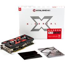 迪兰 RX 580 4G X-Serial 战神 1340-1350/7000MHz 4GB/256-bit GDDR5 DX12 独立显卡 VR游戏显卡产品图片主图