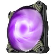 爱国者  冰魄X1冰光版 紫光 电脑机箱风扇(小3P+大4P双接口/水冷排散热/减震脚垫/赠4螺丝)