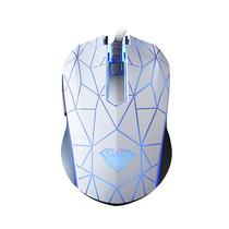 狼蛛 暗战 专业游戏发光鼠标 白色版 电竞鼠标产品图片主图