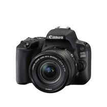 佳能  EOS 200D 单反套机(EF-S18-55mm f/4-5.6 IS STM) 黑色产品图片主图