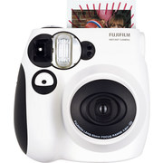 富士 INSTAX 一次成像相机  MINI7s相机 黑白熊猫版 超值套餐(含10张胶片)