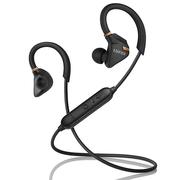 漫步者 W296BT 立体声蓝牙运动耳机 入耳式耳机 手机耳机 带麦可通话 暗金黑