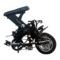 永久 折叠电动车48V锂电池单车12吋迷你成人代步车代驾助力车城市便携电瓶车自行车飞鸟 黑色产品图片2