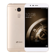 天语 X9 移动联通电信4G手机 指纹解锁 双卡双待  香槟金 (3G RAM+32G ROM)