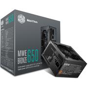 酷冷至尊 额定650W MWE650游戏电源(80PLUS铜牌/DCtoDC架构/日系电容/酷冷FP120静音风扇)