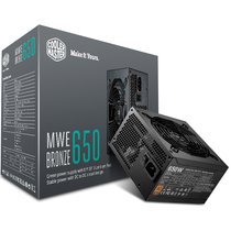 酷冷至尊 额定650W MWE650游戏电源(80PLUS铜牌/DCtoDC架构/日系电容/酷冷FP120静音风扇)产品图片主图
