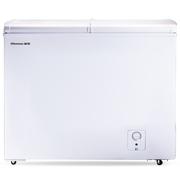 海信  BCD-271QD 271升 卧式冷柜 冷冻冷藏双温柜 蝶形门玻璃门家商两用柜