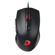 达尔优 LM107  有线鼠标 办公鼠标 USB鼠标 笔记本鼠标 黑色