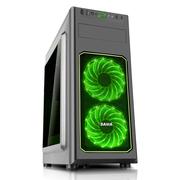 先马 雷克顿 中塔式电脑主机机箱 支持ATX主板/大面积侧透/背部走线/USB3.0/兼容长显卡 高CPU散热器