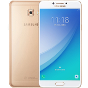 三星 Galaxy C7 pro (C7018)4GB+64GB 枫叶金 4G+版手机 双卡双待