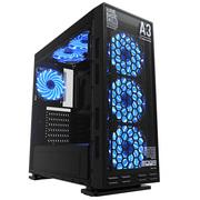 游戏悍将 锋尚A3  分体水冷机箱(钢化玻璃面板/支持ATX主板/39CM长显卡/U3/支持背线)