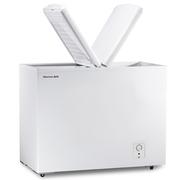 海信  家用商用冰柜 蝶形门卧式冷柜 冷冻冷藏双温柜 节能省电 (珍珠白) BCD-223QD