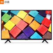 小米 电视4A L32M5-AZ 32英寸 1GB+4GB 四核64位处理器 高清液晶屏智能语音网络平板电视机(黑色)